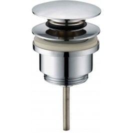 Umyvadlový vtok OPTIMA 5/4, clic-clac celochrom VF785CR