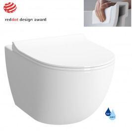 Závěsné WC Vitra Shift, zadní odpad, 54cm RN010REX