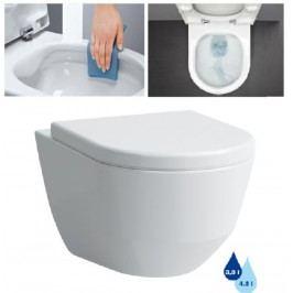 Závěsné WC Laufen Laufen Pro, zadní odpad, 53cm H8209660000001