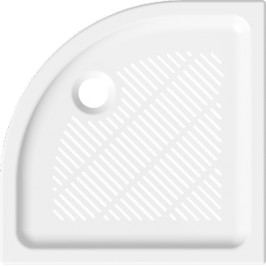 Jika Sprchová vanička čtvrtkruhová 90x90 cm, R 550, keramika 8.5372.3.000.000.3