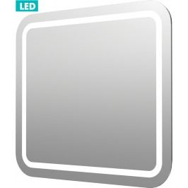 Zrcadlo s osvětlením led Pavia Way 60x60 cm IP55, bez vypínače ZIL6060KRBV