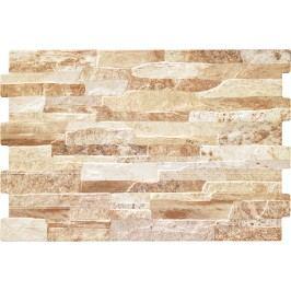 Obklad Geotiles Brick terra 34x50 cm, reliéfní BRICKTE