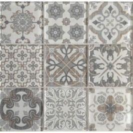 Dekor Premium Mosaic Skleněné obklady mix barev 30x30 cm, lesk PATCHWORK200
