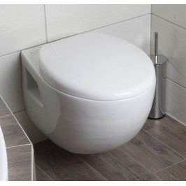 Závěsné WC Glacera Base, zadní odpad, 54,5cm BA010