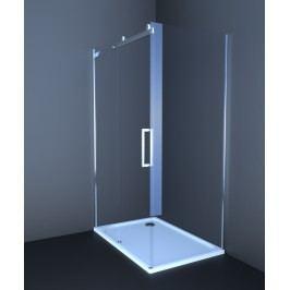 Sprchový kout Anima T-Linea obdélník 120 cm, čiré sklo, chrom profil TL12080TLSET