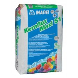 Lepidlo Mapei Keraflex Maxi S1 Low Dust 25 kg šedá (C2TE S1) KERAFLEXMAXI