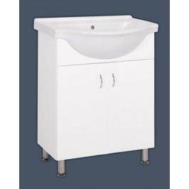 Skříňka s umyvadlem Multi Pro 66 cm, bílá PRO65NOVA