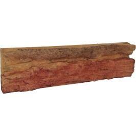 Obklad Skála ohnivá oranžovočervená V55100