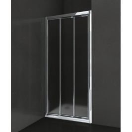 Sprchové dveře Anima Epd posuvné 80 cm, neprůhledné sklo, chrom profil EPD80CRCH