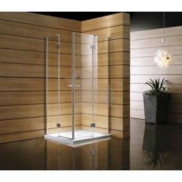 Sprchový kout Anima T-Comfort čtverec 90 cm, čiré sklo, chrom profil TCL490T