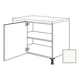 ERIKA24 Kuchyňská skříňka spodní rohová 110 cm levá, bílá lesk 450.UED9045.L