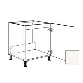 ERIKA24 Kuchyňská skříňka spodní dřez 60 cm 1D pravá, bílá lesk 450.SPUD60.R