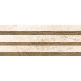 Dekor Pilch Adore ivory strips 25x65 cm, mat DADOREST