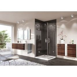 Sprchové dveře Huppe Strike jednokřídlé 80 cm, čiré sklo, chrom profil, levé 430301.092.322