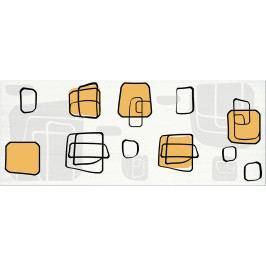 Dekor Fineza Fresh cube orange 20x50 cm, lesk DFRESHOR