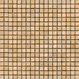 Kamenná mozaika 1,5x1,5 cm Premium Mosaic Stone 30,5x30,5 cm krémová STMOS15CRW