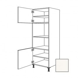 ERIKA24 Kuchyňská skříňka 60 cm, trb+ MW, levá, bílá lesk, MIC380 450.GMDK01.L