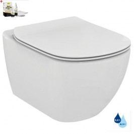 Závěsný WC se sedátkem softclose Ideal Standard Testra, zadní odpad, 53cm SIKOSIST0078