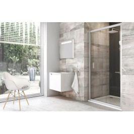 Sprchové dveře RAVAK BLDP2-100 satin+Transparent 0PVA0U00Z1