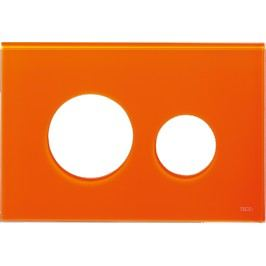 Ovládací tlačítko Tece Loop sklo, oranžová 9.240.673