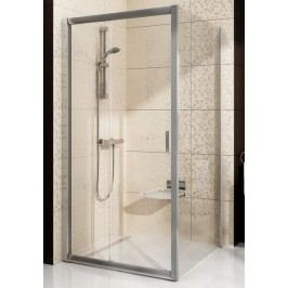 Sprchový kout RAVAK BLPS-100 satin+transparent 9BHA0U00Z1