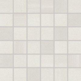 Mozaika Rako Casa bílá 30x30 cm, mat, rektifikovaná WDM06530.1
