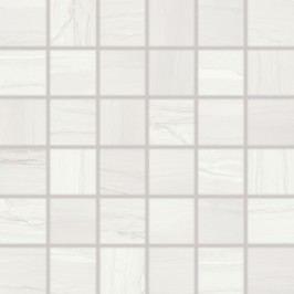 Mozaika Rako Boa bílá 30x30 cm, mat, rektifikovaná WDM06525.1