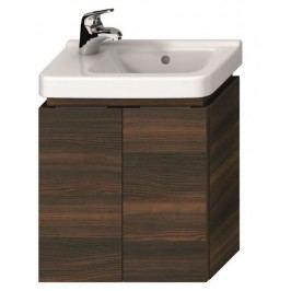 Skříňka pod umývátko Jika Cubito 45 cm, borovice tmavá H40J4202004611