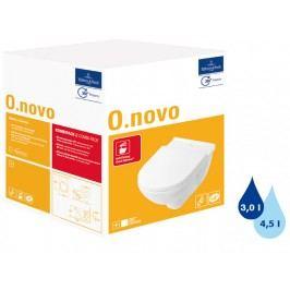 Závěsné WC se sedátkem softclose Villeroy & Boch O.Novo, zadní odpad, 56cm 5660H101