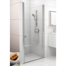 Sprchové dveře RAVAK CSD1-80 satin+Transparent 0QV40U00Z1