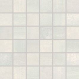 Mozaika Rako Rush světle šedá 30x30 cm, pololesk, rektifikovaná WDM06521.1
