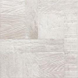 Dlažba Rako Era bílá 33x33 cm, reliéfní DAR3B706.1