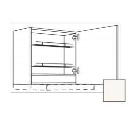 ERIKA24 Kuchyňská skříňka 60 cm digest. prav, bílá lesk, CD30635 450.WDAF6057R