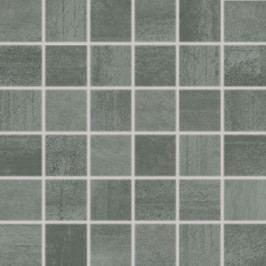 Mozaika Rako Rush tmavě šedá 30x30 cm, pololesk, rektifikovaná WDM06522.1