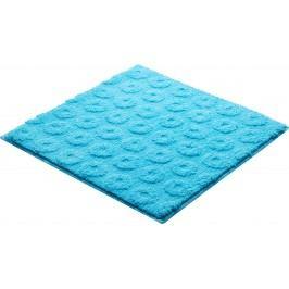 Koupelnová předložka polyester Grund 55x55 cm, modrá SIKODGLIS555