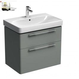 Skříňka s umyvadlem Kolo Kolo 75 cm, platinová šedá SIKONKOT75PS