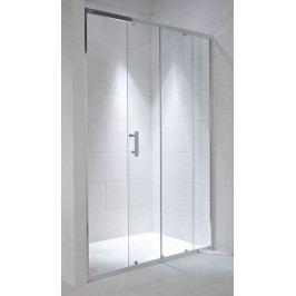 Sprchové dveře Jika Cubito Pure posuvné 120 cm, čiré sklo, chrom profil H2422440026681