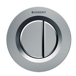 Dvojčinné ovládací tlačítko Geberit Sigma plast, chrom 116.042.46.1
