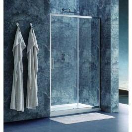Sprchové dveře Siko TEX posuvné 140 cm, čiré sklo, chrom profil, univerzální SIKOTEXD140CRT