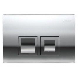 Dvojčinné ovládací tlačítko Geberit Delta plast, matný chrom 115.135.46.1