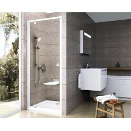 Sprchový kout RAVAK PDOP1-80 satin+transparent 03G40U00Z1