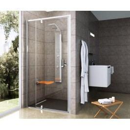 Sprchové dveře RAVAK PDOP2-120 satin+transparent 03GG0U00Z1