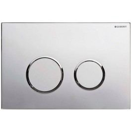 Dvojčinné ovládací tlačítko Geberit Omega plast, chrom 115.085.KN.1