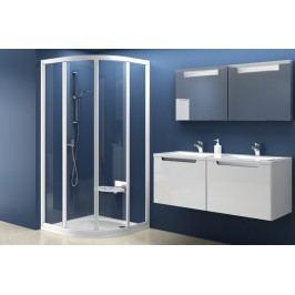 Sprchový kout RAVAK SKCP4-80 bílá+transparent 31140100Z1