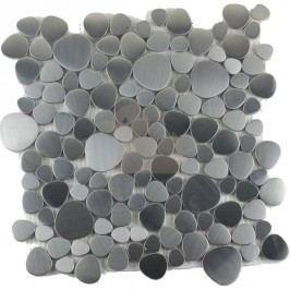 Premium Mosaic mozaika nerezová oblázky 30x30 cm MOSNRZ
