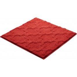 Koupelnová předložka polyester Grund 55x55 cm, červená SIKODGNAN557