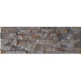 Obklad Azuliber Nebraska marengo 17x52 cm, reliéfní NEBRASKA52MA