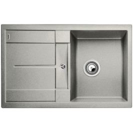 Dřez Blanco Metra 45 S 78x50 cm stříbrná 520567