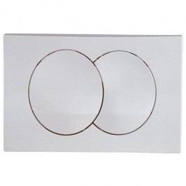 Dvojčinné ovládací tlačítko Geberit Delta plast, bílá 115.100.11.1