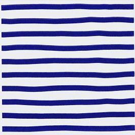 Dekor Fineza Happy modrá 20x20 cm, lesk